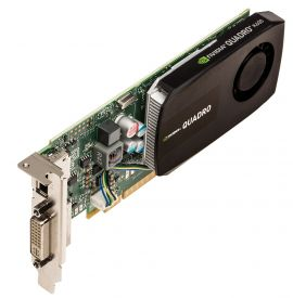 713379-001 - NVIDIA Quadro K600 1GB GDDR5 PCI-e graphics card