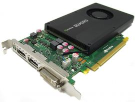 713380-001 - NVIDIA Quadro K2000 2GB GDDR5 PCI-e graphics card