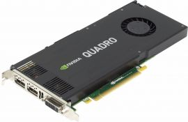 765149-001 - Nvidia Quadro K4200 4GB DDR5 4K Graphics Card VGA