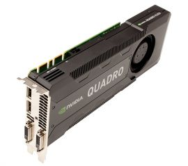 CFTKF - DELL NVIDIA QUADRO K5000 GPU 4GB GRAPHICS PROCESSING UNIT VIDEO CARD
