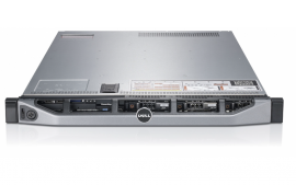 DELL PowerEdge R620, 2 x E5-2680 2.70GHz, 32GB, 1 x 5720 Quad Port NIC, 2x 600GB 10K SAS HDD, 2 x 750W PSU