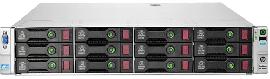 DL380e Gen8 (14LFF), 2x E5-2450L 1.8GHz, 32GB DDR3, B120i/0MB, 2x 750W PSU, Rails, 2x 500GB SATA