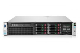 DL380p Gen8 (8SFF) 2x E5-2690v2 3.0GHz 10C, 128GB, 2x 460W PSU, P420i/1GB FBWC, 331FLR, Rails, 8x 600GB 10K SAS HDD