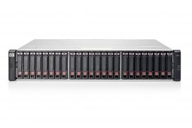 HP MSA2040 10GBit iSCSI 16GB FC 19.2TB (24x 800GB 12G SSD) SAS SAN Configuration