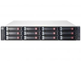 HP MSA2040 LFF SAN Storage Dual 10GBit iSCSI & 16GB FC 72TB 12G SAS HDD (12x 4TB SAS MDL HDD)