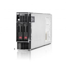HP BL460c Gen8 Blade Server 2x E5-2667 2.9GHz, 128GB RAM, p220i/512MB, 10GBe