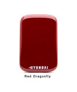 Hyundai HS2 256GB External SSD USB3 Red Dragonfly