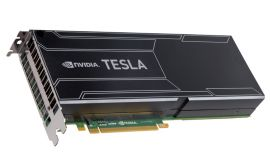 Nvidia Tesla K10 8GB 256-bit GDDR5 DUAL GPU Accelerator - Airflow away from the bracket