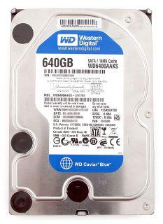 """Western Digital Caviar Blue WD6400AAKS 640GB SATA 7200 RPM 3.5""""HDD"""