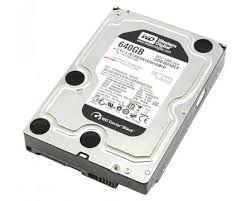 "Western Digital Caviar Black WD6402AAEX 640GB SATA 7200RPM 3.5""HDD"