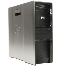 HP Z600, 8 Cores Dual Xeon 2.93GHz, 24GB DDR3 RAM, 1TB SATA NVS300 WIN10