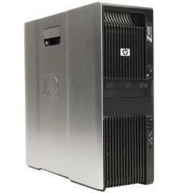 HP Z600, 8 Cores Dual Xeon 2.93GHz, 24GB DDR3 RAM, 1TB SATA FX4600 WIN10